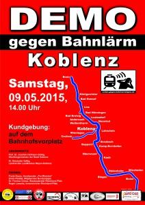 IG-Bahnlärm-Plakat